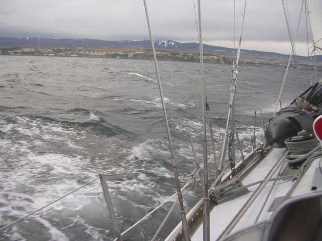 11. Frente a Punta Arenas
