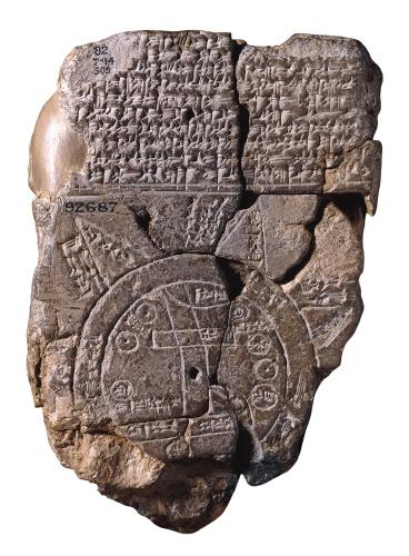 0 Siglo 6 AC - Imago Mundi, Babylonia