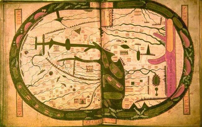 1050 Di Liébana, Beatus - Mappa Mundi
