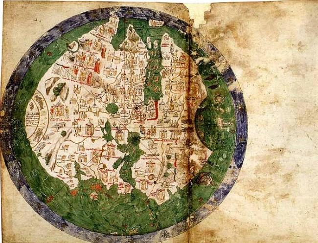 1436 Andrea Bianco - Mappa Mundi