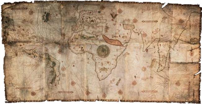 1505 De Caveri, Nicolay - Mappa Mundi