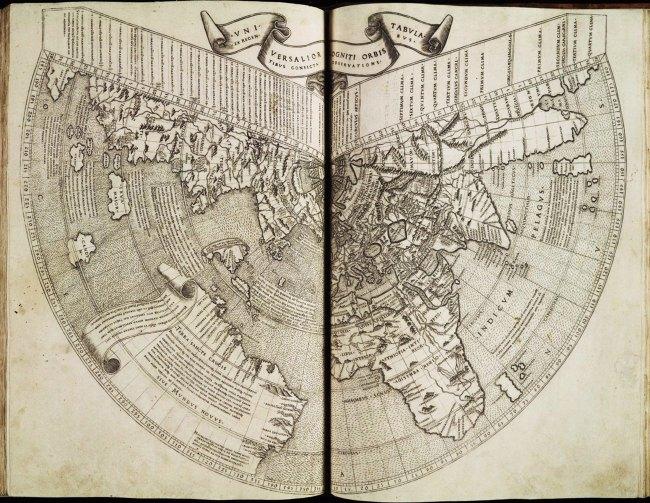 1508 Ruysch, Joannes - Universalior Ogniti Orbis Tabula