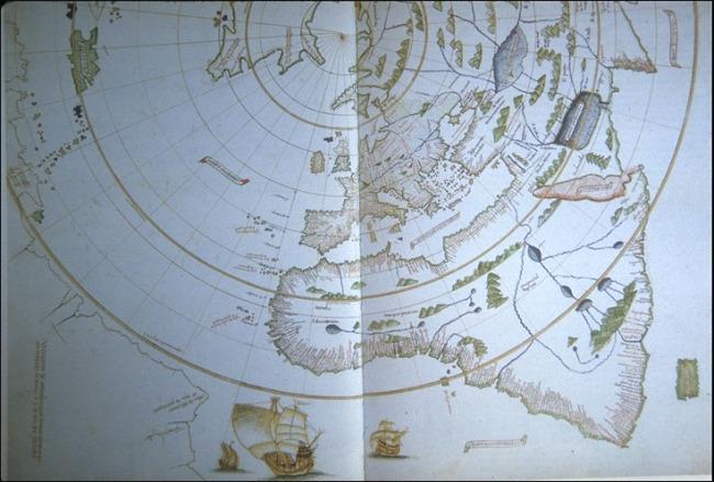 1511 Maggiolo, Vesconte de - Mappa Mundi Polar