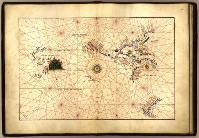 1544 Agnese, Battista - Atlas Universal