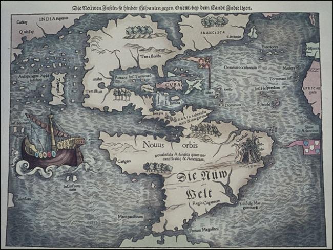 1552 Münster, Sebastian - Die Nuw Welt