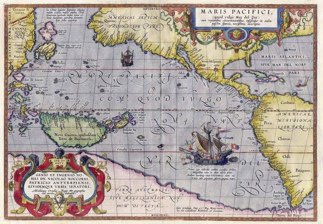 1589 Ortelius, Abraham - Maris Pacifici