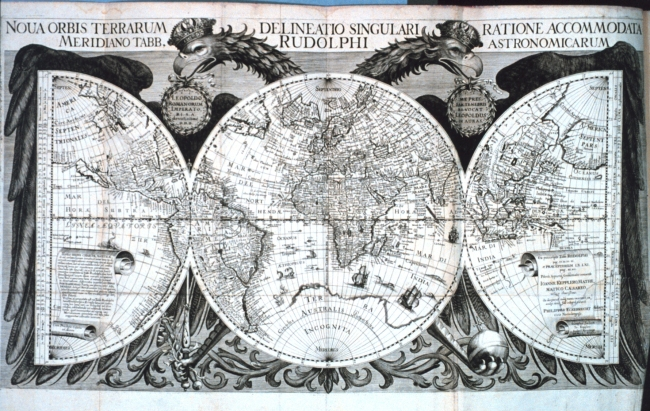 1627 Kepler, Johannes -Tabulae Rudolphinae  quibus astronomicae
