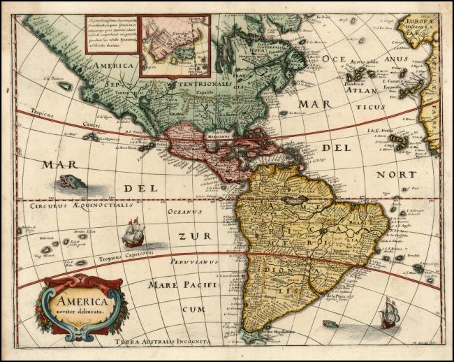 1638 Merian, Matheus - America noviter delineata