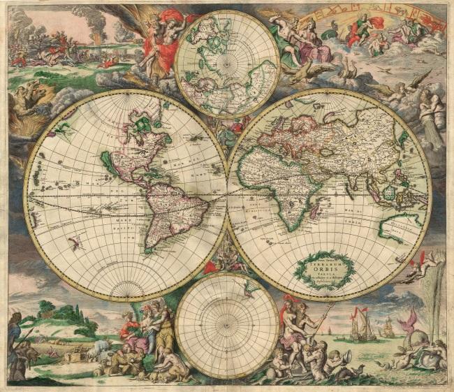 1689 Van Schagen, Gerard - Mappa Mundi