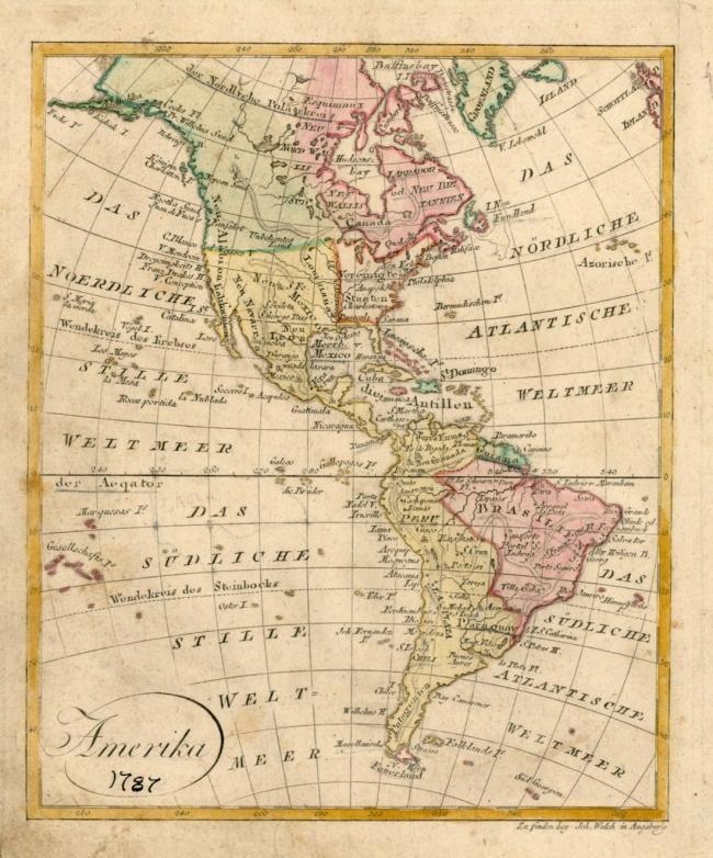 1787 Walch, Johann - Amerika