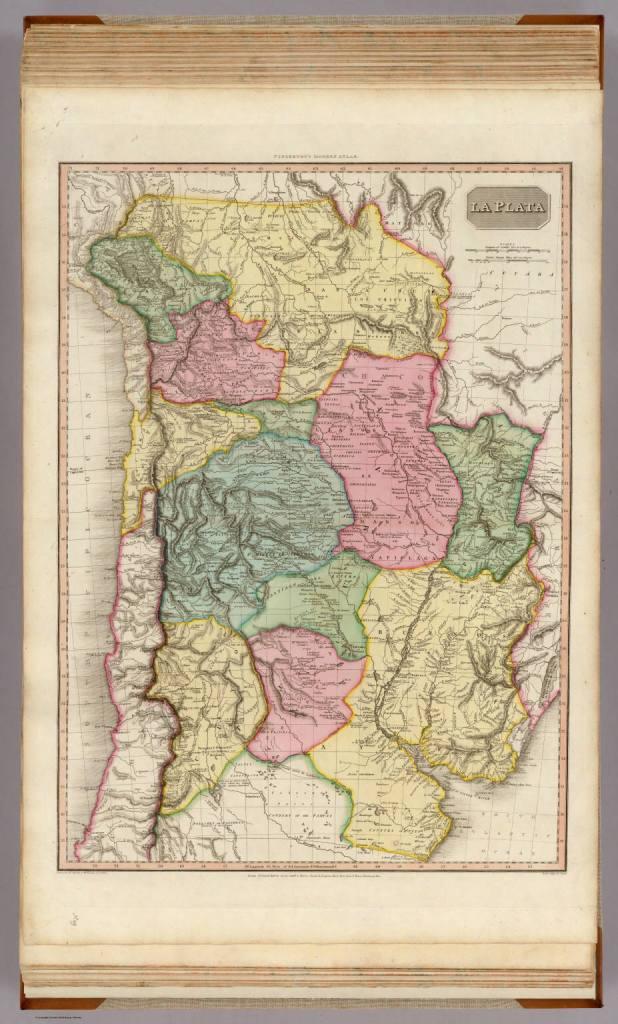 1812 Pinkerton, John - La Plata Provinces