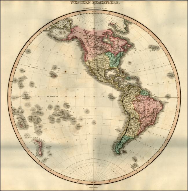 1812 Pinkerton, John - Western Hemisphere
