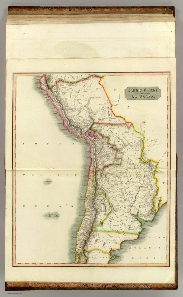 1816 Thomson, John - Peru, Chili and La Plata