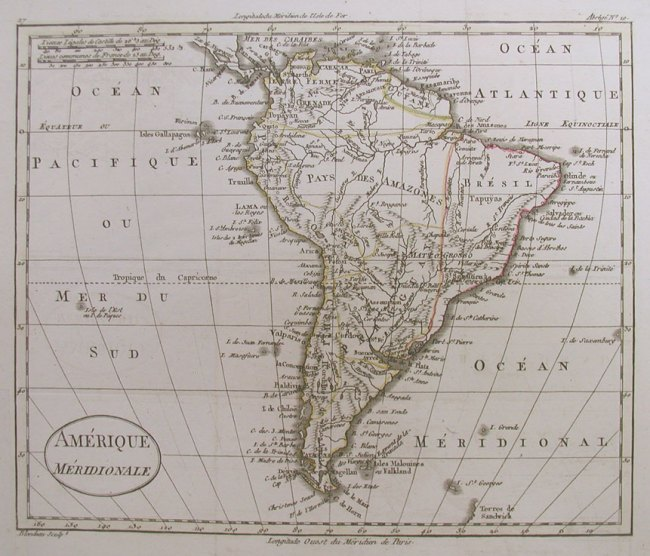 1817 Blondeau - Amerique meridionale