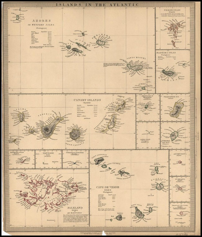 1836 Sduk - Islands in the Atlantic
