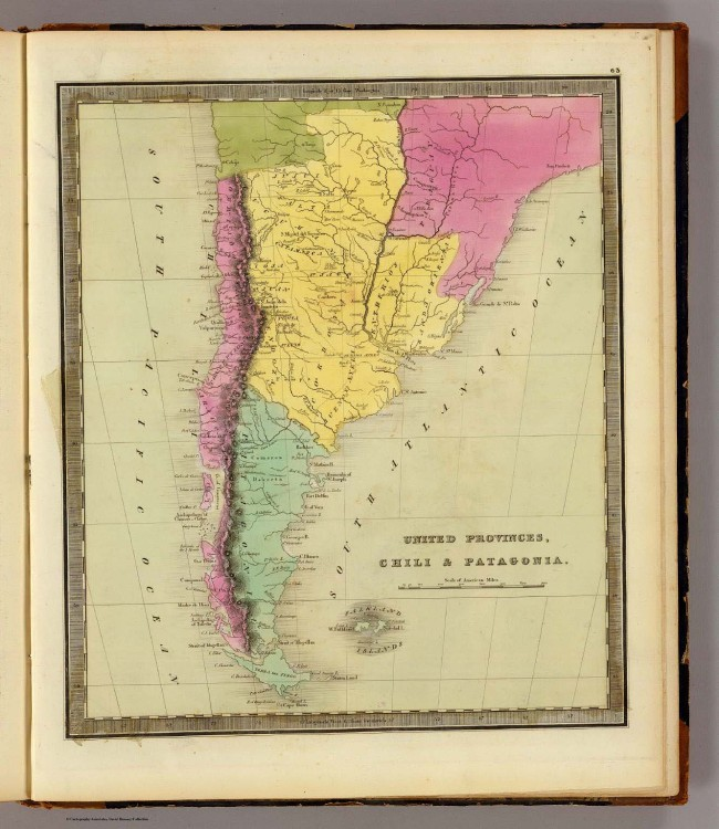 1840 Greenleaf, Jeremiah - United Provinces, Chili and Patagonia