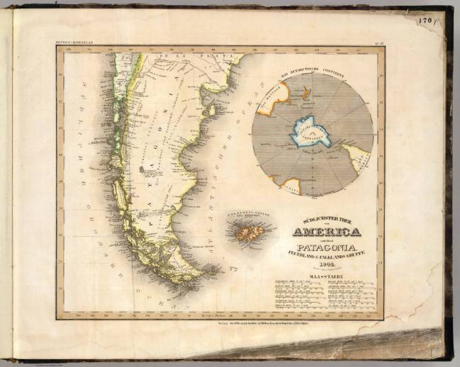 1844 Radefeld, Carl Christian - Patagonien, Feuerland und Falkland Inseln