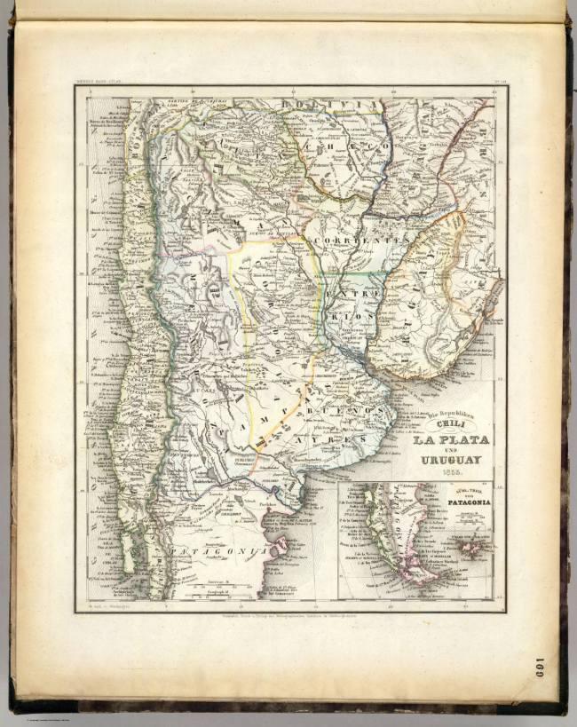1853 Meyer, Joseph - Chili, La Plata und Uruguay