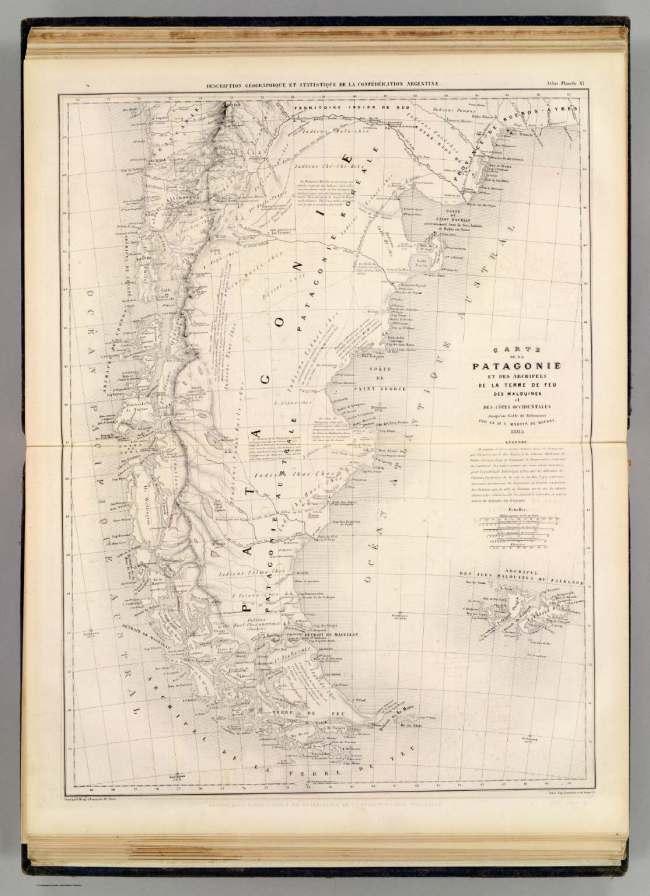 1873 Moussy, Martin de - Patagonie