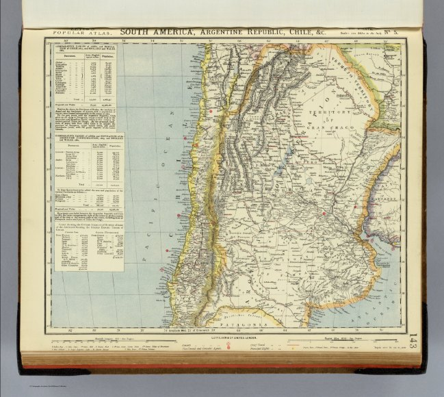 1883 Letts Sun & Co - South America, Argentine and Chili