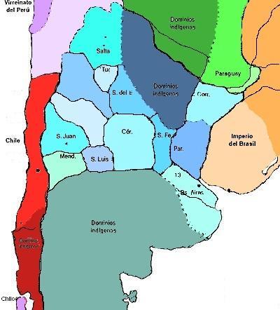 1984 Fuente Pedagógica Argentina - Provincias Unidas en 1823