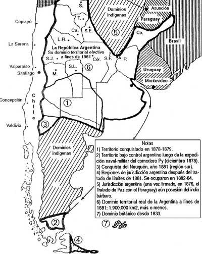 1995 Fuente Pedagógica Argentina - Expansión de las Prov Unidas 1878-81