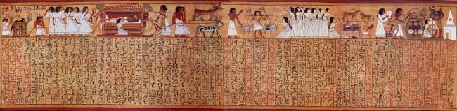 papiro de Ani Laminas-5-y-6